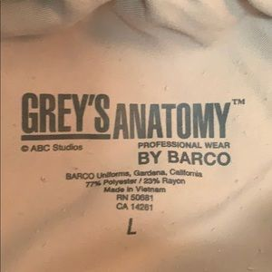 Grey's Anatomy Pants - Greys Anatomy L Scrub Bottoms